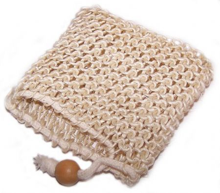 Sisal Soap Bag - Exfoliate Naturally, Ethically Sourced